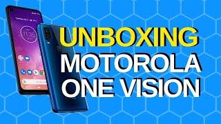 MOTOROLA ONE VISION - UNBOXING EN ESPAÑOL