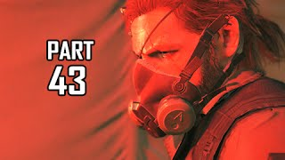 Metal Gear Solid 5 The Phantom Pain Walkthrough Part 43 - Outbreak (MGS5 Let's Play)