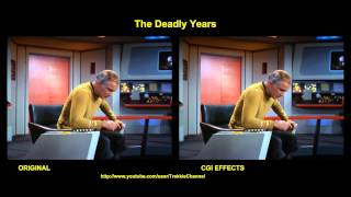 Star Trek - The Deadly Years - visual effects comparison