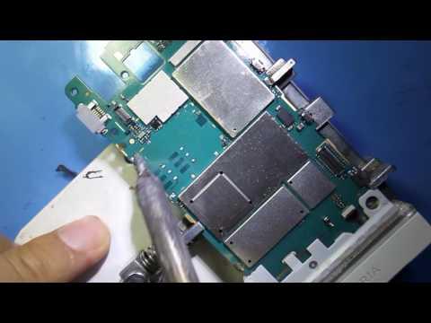 طريقة تغيير كونكتور كارت سيم  sony st25 SIM card change Konctor