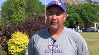 Softball coach Donald Pickett focused more on momentum than seeding