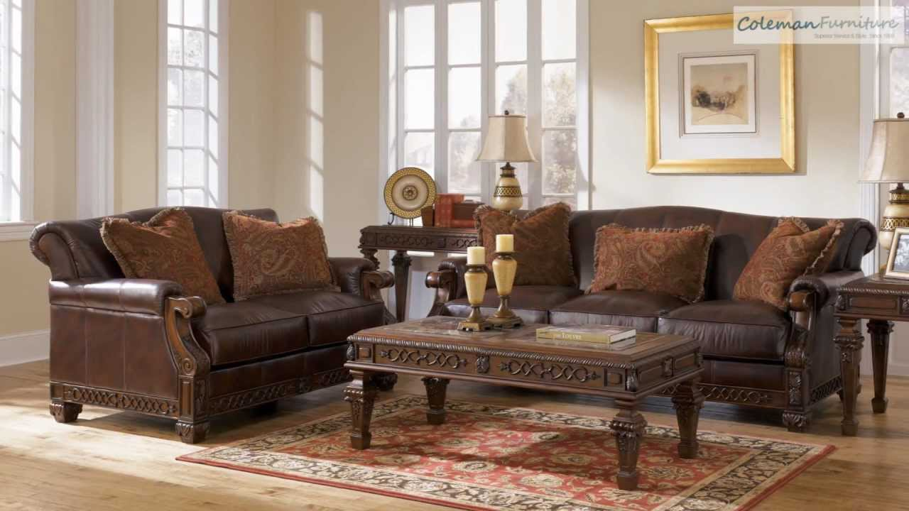 Oakmere Truffle Living Room Collection From Signature Design By Ashley.  Coleman Furniture Online Part 21