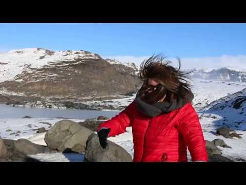 Windy Iceland Glacier!