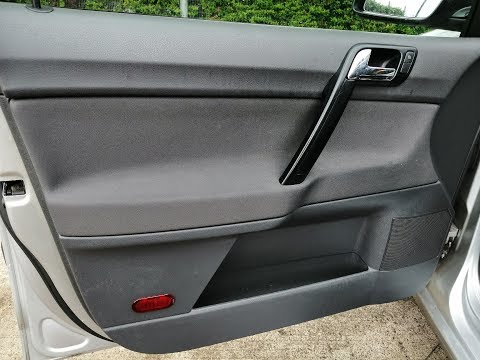 VW Polo 02-09 how to replace door speakers,step by step guide