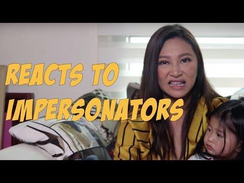 Myself reacts to Impersonators (ft. Athena) | Rufa Mae Quinto