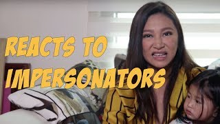 Rufa Mae Quinto Reacts to Impersonators (ft. Athena)