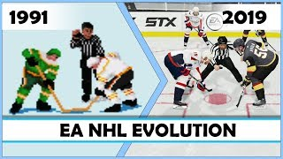 EA NHL evolution [1991 - 2019]