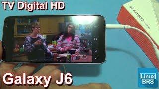 Samsung Galaxy J6 - TV Digital HD: Funções