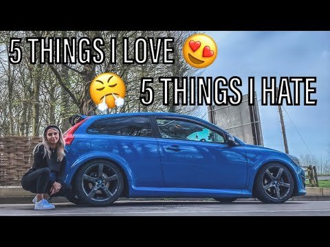 5 THINGS I LOVE AND HATE ABOUT MY VOLVO C30 | EMILY.C30
