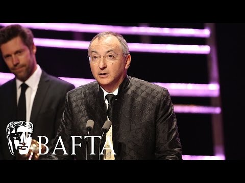 Peter Kosminsky accepts Wolf Hall's Drama Series award | BAFTA TV Awards 2016