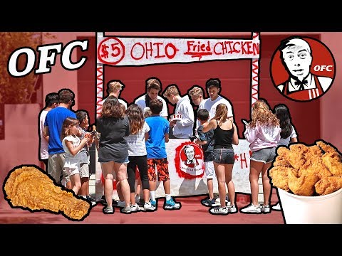 Thumbnail: FUNNY OHIO FRIED CHICKEN STAND (WITH FANS)