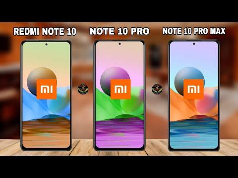 Redmi Note 10 VS Note 10 Pro VS Note 10 Pro Max