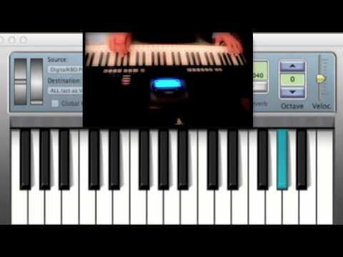 keyboard tutorial-mera dil ye pukare aaja-Nagin