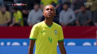 Brésil Jamaïque poules coupe du monde féminine 2019 FIFA 19