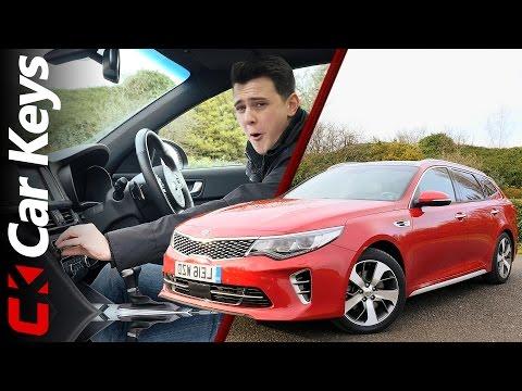 Kia Optima Sportswagon 2017 Review – The Sexiest Family Estate On Sale? - Car Keys