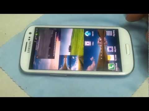 Trên tay Samsung Galaxy S3 i9300 thử tính năng Pop up Play www.diemsangviet.net