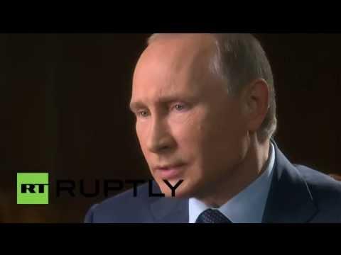 Russia: Putin talks Assad, Ukraine & ISIS with US TV host Charlie Rose