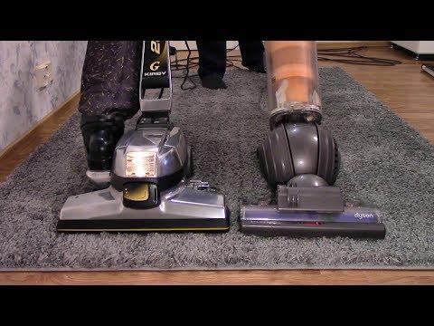 Flour Under The Carpet: Kirby G6 vs Dyson DC40 mkII