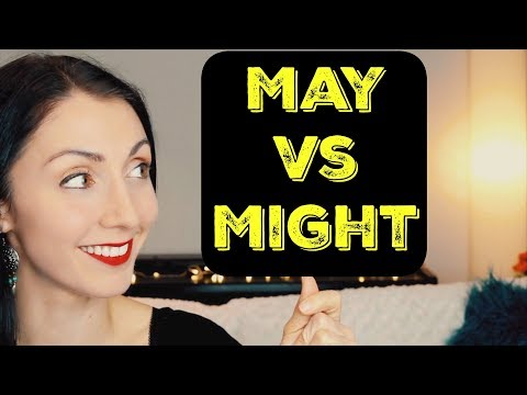 May vs Might What's the Difference | Live English Lesson Writing Practice