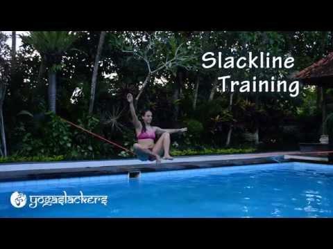Slackline Training: The Chongo Mount