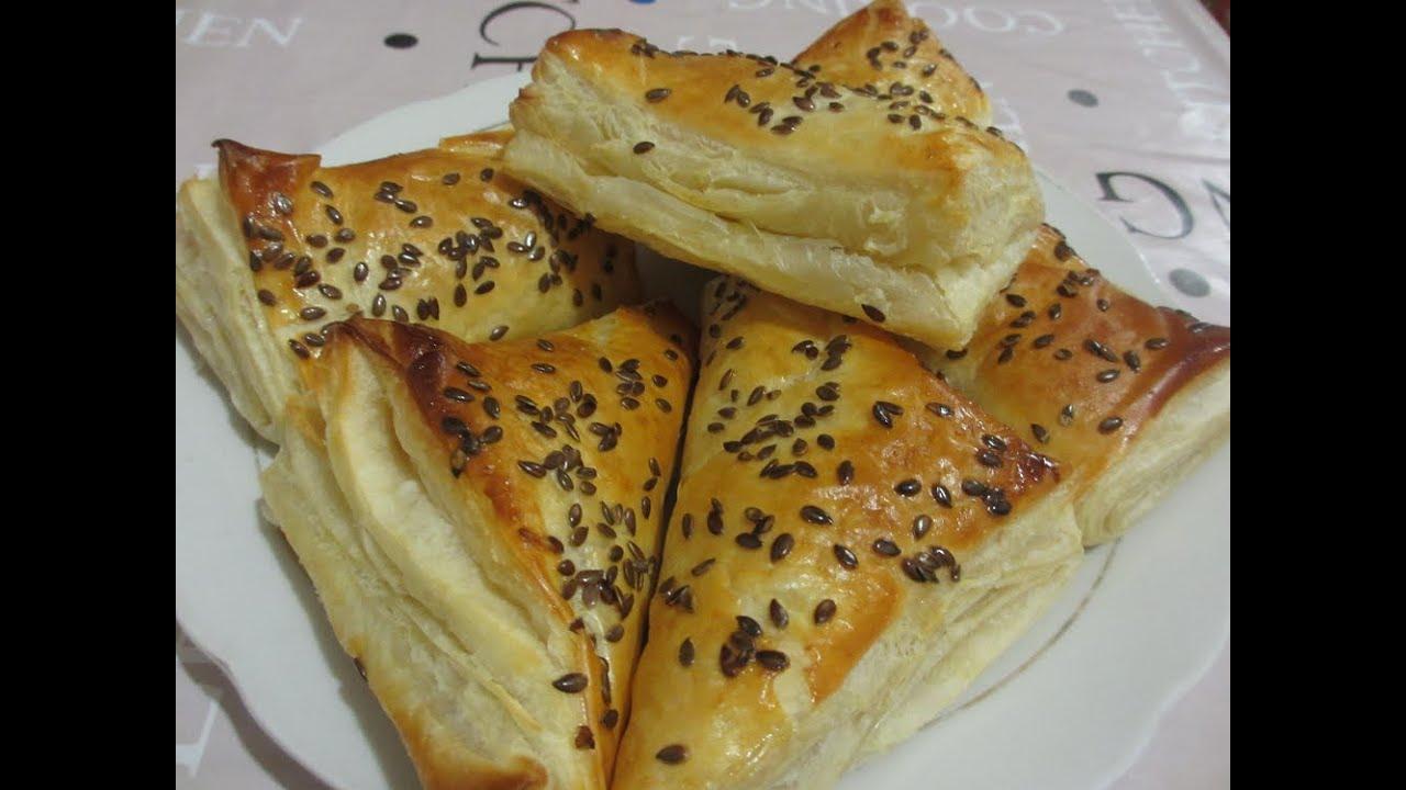 рецепт мясом из с теста слоеного Фаготтини готового