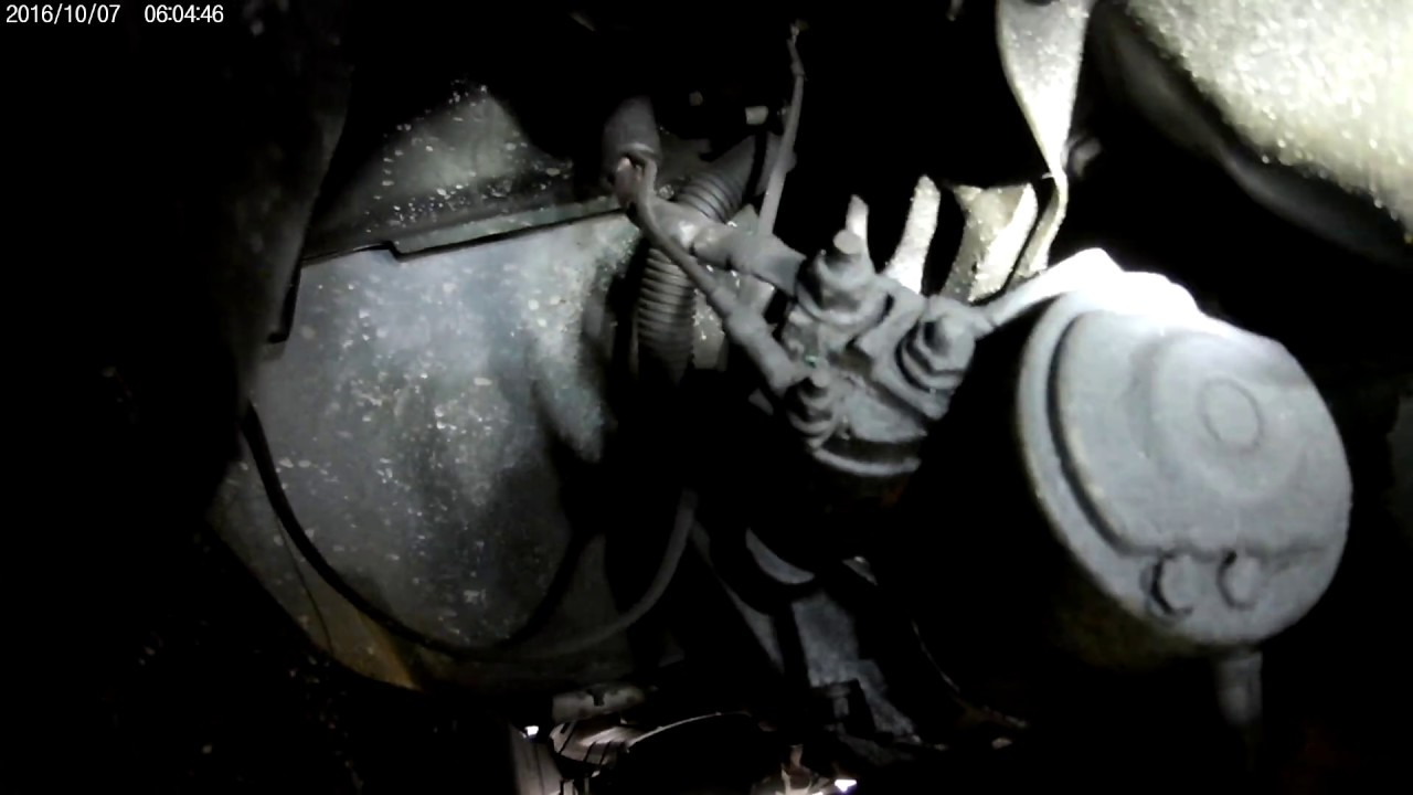 hight resolution of 1998 jeep wrangler tj 2 5l starter easy install youtube
