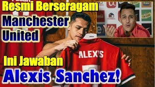 Official Uniformed Manchester United, This Answer Alexis sanchez!