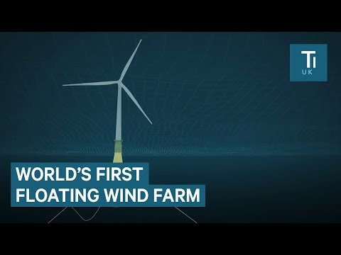 This wind farm is floating on the ocean - here's how it was built