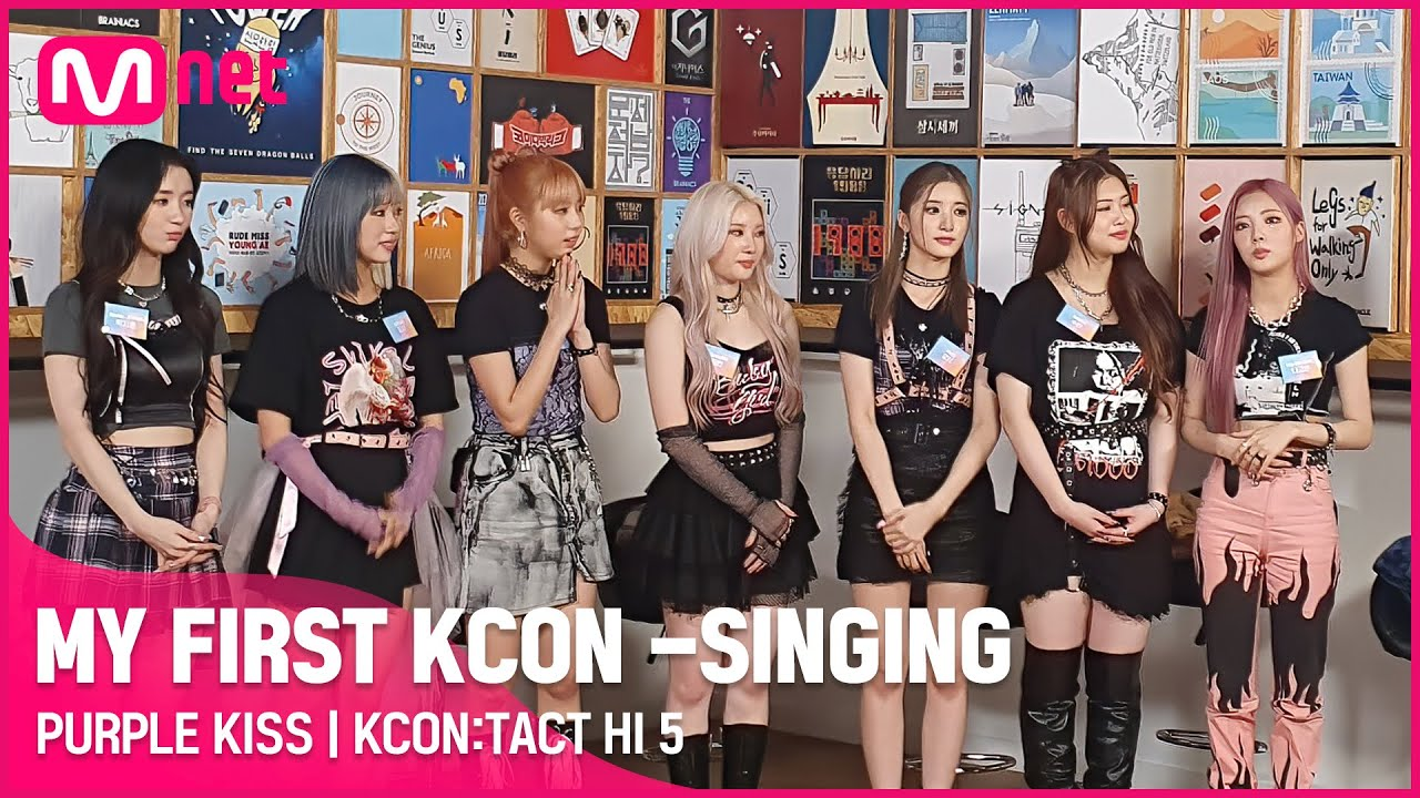[KCON STUDIO] MY FIRST KCON – SINGING 🎙 | PURPLE KISS (퍼플키스) | KCON:TACT HI 5 | Full Video