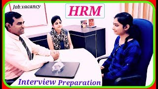HRM Interview : Human Resource Management : #MBA #Interview : MBA #HR Interview for fresher