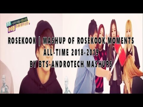 ROSEKOOK | Jungkook and Rose Unseen hidden Moments 2018-19 | Roskook 2