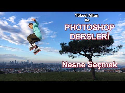 Photoshop Dersleri - Nesne seçmek / Photoshop Tutorials - Selecting an object