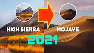 How to update macOS High Sierra to macOS Mojave in 2021