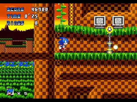 Sonic The Hedgehog AGX Demo - Walkthrough Part 1