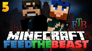 Minecraft Modded Survival - FTB 5 - THE HIJACKERS