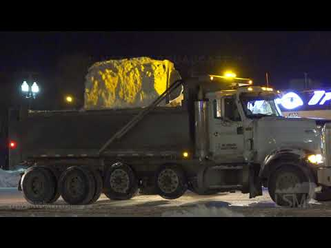 02-25-2020 Rapid City, SD - Overnight Heavy Duty Snow Removal