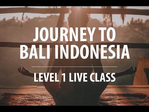 QHHT Bali, Indonesia – Level 1 Live Class