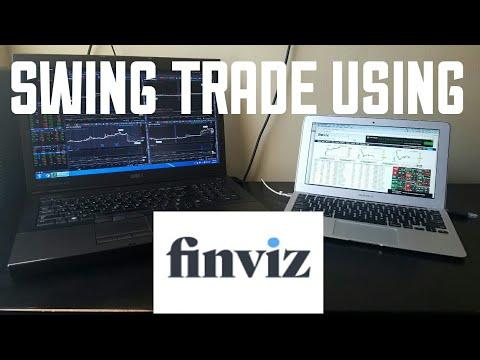 Swing Trade Using Finviz
