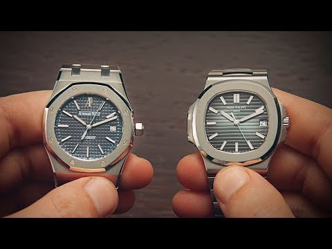 Audemars Piguet Royal Oak vs Patek Philippe Nautilus | Watchfinder & Co.