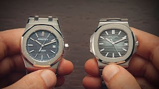 Audemars Piguet Royal Oak vs Patek Philippe Nautilus | Watchfinder & Co.