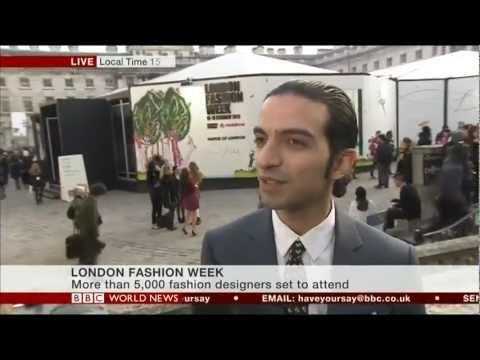 BoF Founder, Imran Amed on BBC World News at London Fashion Week.
