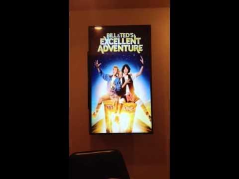 Digital poster frame - YouTube