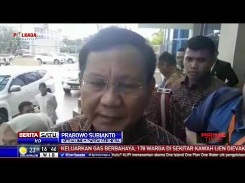 Tanggapan Prabowo Soal Pernyataan Indonesia Bubar 2030