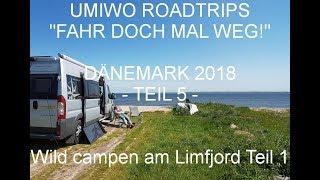 Mit dem Wohnmobil nach Jütland Dänemark | Teil 5 | Wild campen am Limfjord (1)