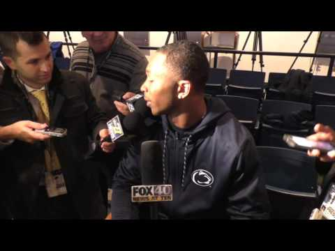 Penn State's Grant Haley on game-winning touchdown