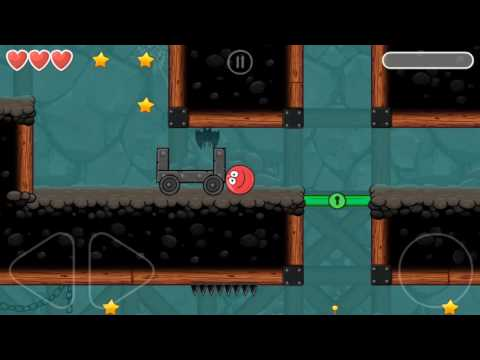 Red Ball 4 | Into The Cave Level 64 | Android Gameplay And Walkthrough