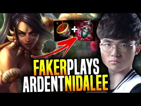 Faker Plays New Broken Ardent Censer Nidalee!