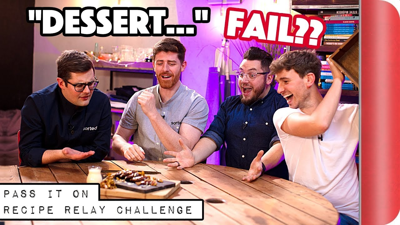 """DESSERT"" Recipe Relay Challenge 