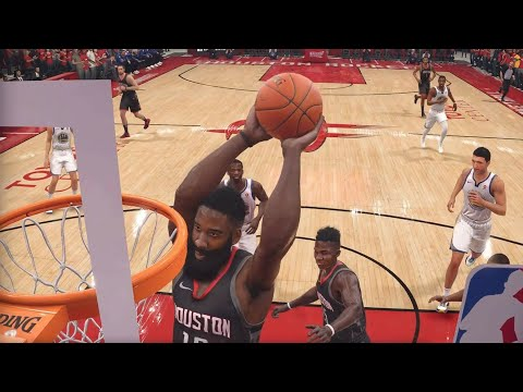 NBA Warriors vs Rockets LIVE 18 - West Finals Game 5 - 2nd Half - PS4 PRO MAX SETTINGS - HD