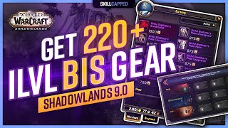 Get 220+ iLvl BiS WoW PvP Gear | Shadowlands 9.0 Gearing Guide